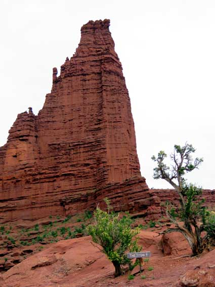 The Titan - Fisher Towers Trail