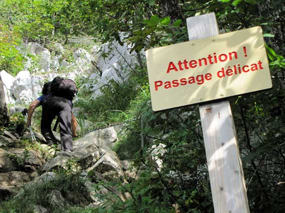 Attention ! Passage délicat...